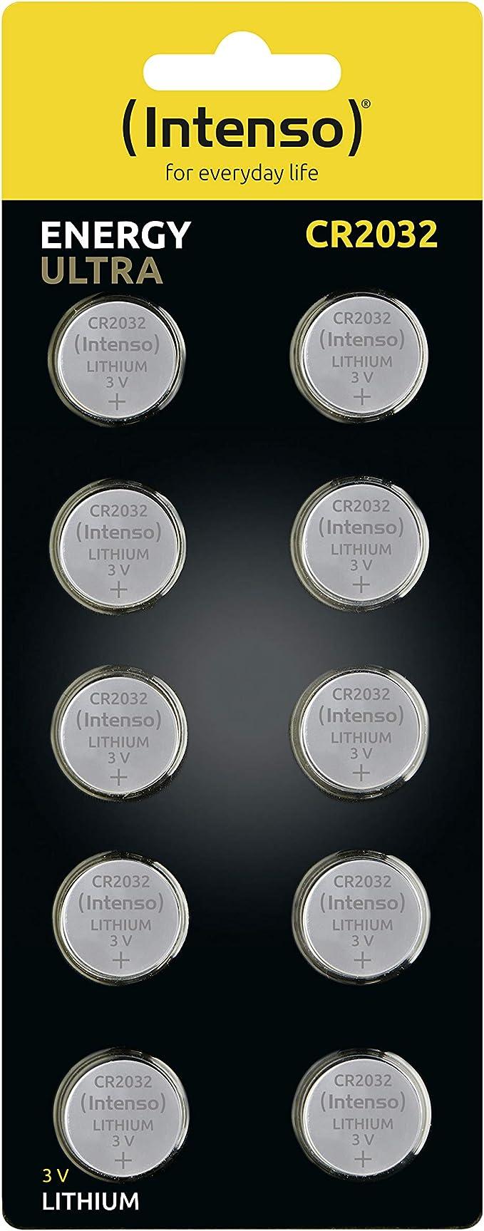 Intenso Energy Ultra Lithium Knopfzelle Cr2032 10er Elektronik