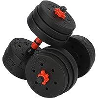 20 kg dumbbellset, verstelbare halters, gewichten, set voor training thuis en in de sportschool.