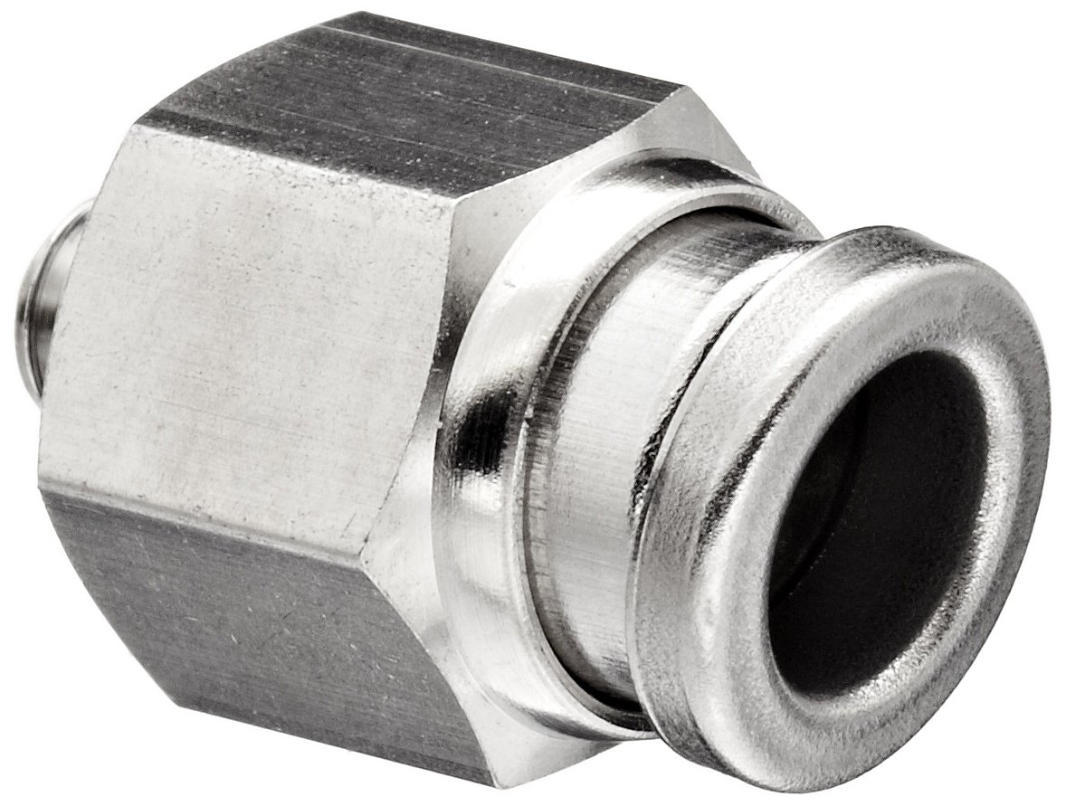 1//4 and 3//8 Pack of 10 1//4 and 3//8 NPT Single Banjo Tube to Pipe Parker W369PLPBJ-4-6-pk10 Composite Push-to-Connect NPT Fitting Pack of 10