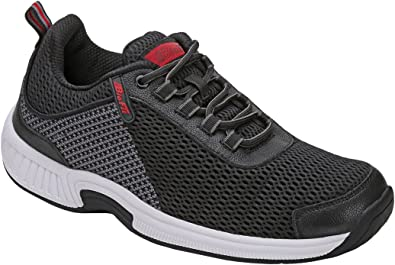 Amazon.com: Orthofeet Proven Heel and Foot Pain Relief. Extended Widths.  Best Orthopedic Plantar Fasciitis Diabetic Men's Walking Shoes Sneakers  Edgewater: Shoes