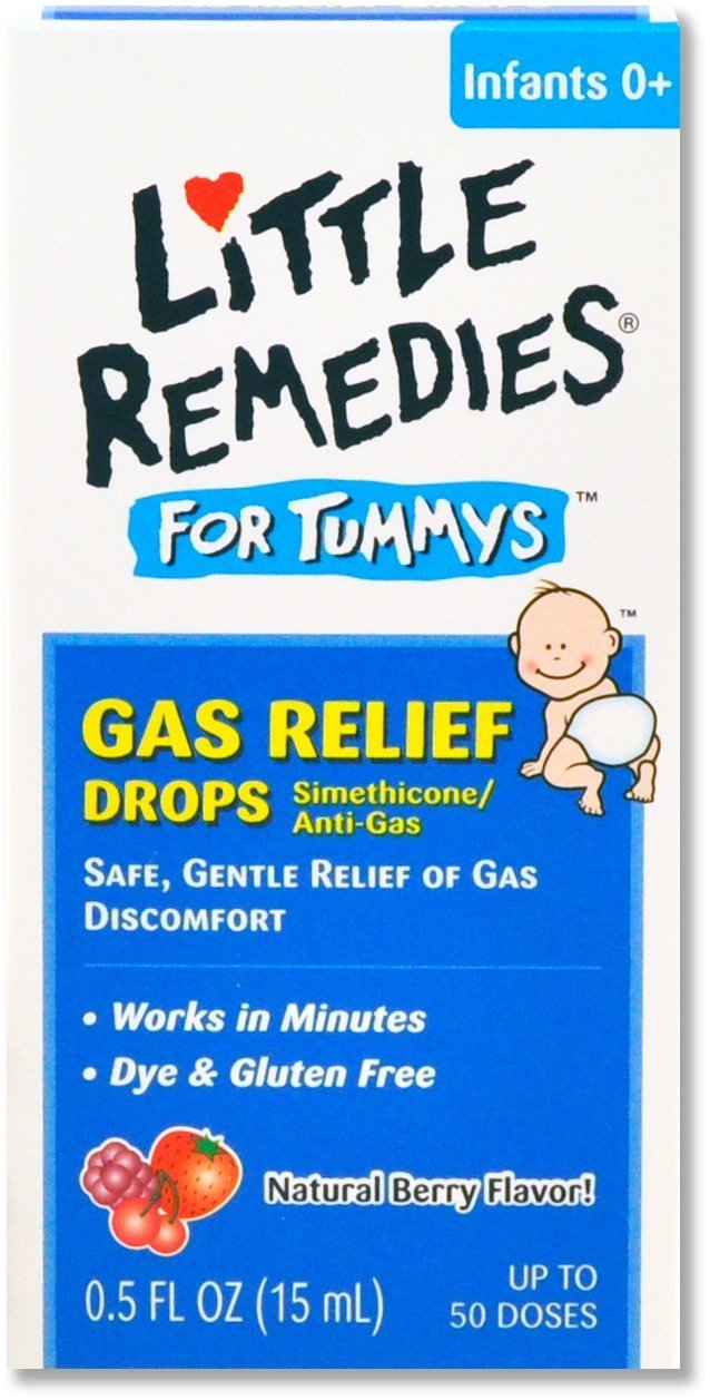 Little Tummy Gas Drops Be Size .5z Little Tummy Gas Drops Berry .5z Medtech Products