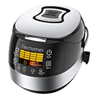 Deals on Elechomes LED Touch Control Electric Rice Cooker