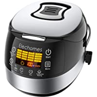 Elechomes 10-Cup Rice Cooker and Food Warmer Steamer