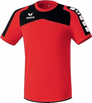 erima Trikot Ferrara - Camiseta de equipación de fútbol para hombre, color rojo/negro, talla M: Amazon.es: Deportes y aire libre