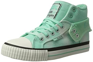 Roco, Sneakers Basses Femme - Vert Menthe, 38 EUBritish Knights