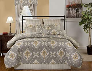 product image for Victor Mill Taos 9 Piece Queen Comforter Set 92W x 96L