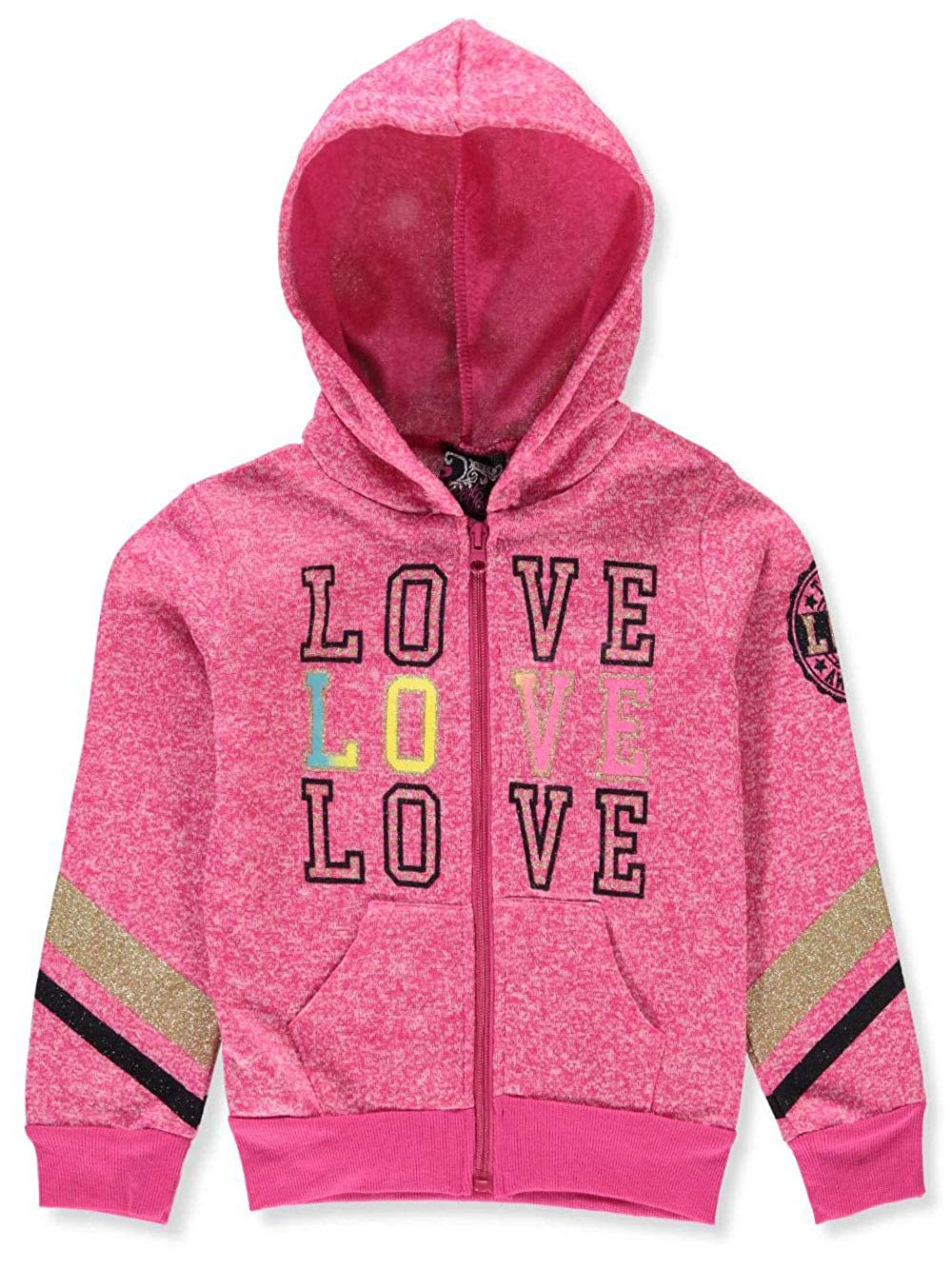 Real Love Girls' Fleece Hoodie