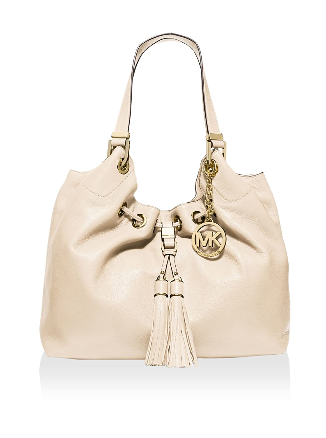 e452a4dd4096 Amazon.com: Michael Kors Camden Large Drawstring Shoulder Tote Ecru/Gold:  Shoes