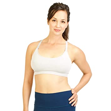 S Hibiscus Bamboobies Nursing Bra Maternity Underwear for Breastfeeding