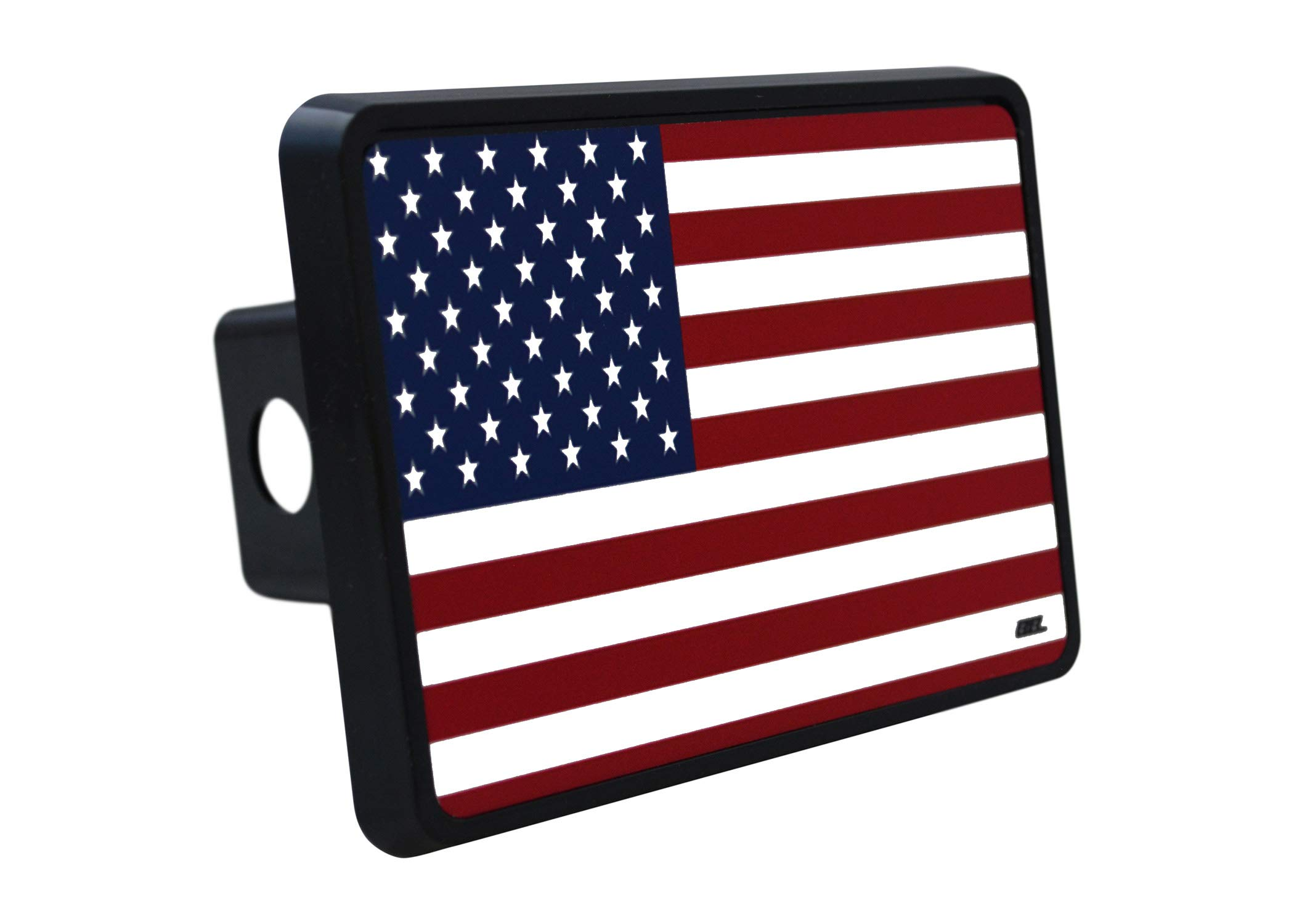 Rogue River Tactical USA American Flag Trailer Hitch Cover Plug US Patriotic Old Glory by Rogue River Tactical