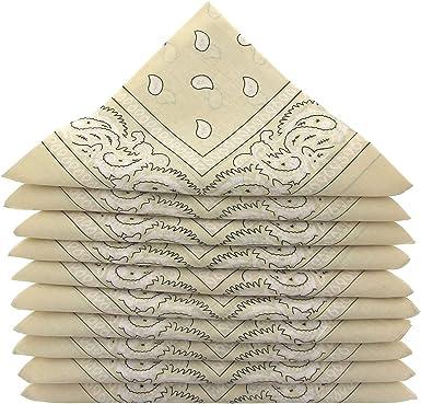 Bandana foulard foulard Motard Foulard Bandana Paisley Coloré Couleurs 4er Set 3