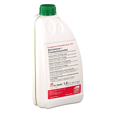 4551cb5a13 Amazon.fr : Febi bilstein Protection Anti-Gel (Vert, pour Refroidisseur)