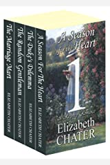 The Elizabeth Chater Regency Romance Collection #1 Kindle Edition
