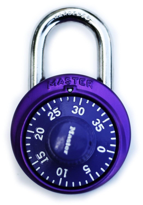 Master Lock 1530DCM X-treme Combination Lock in Purple 10456017