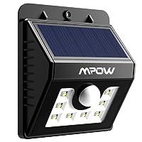 Mpow Solar Lights Motion Sensor Security Lights 3-in-1 Waterproof Solar Powered Lights