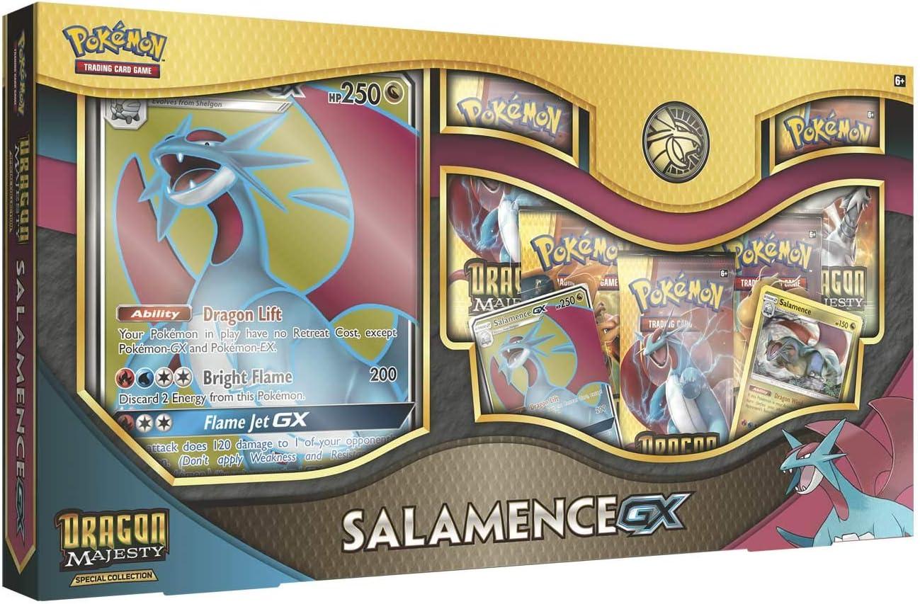 Pokemon JCC- Colección Salamence Kyurem Blanco-Gx-Español, Color (The Pokemon Company POGX1810): Amazon.es: Juguetes y juegos