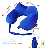 Travel Pillow Comfortable Inflatable U Shaped Neck
