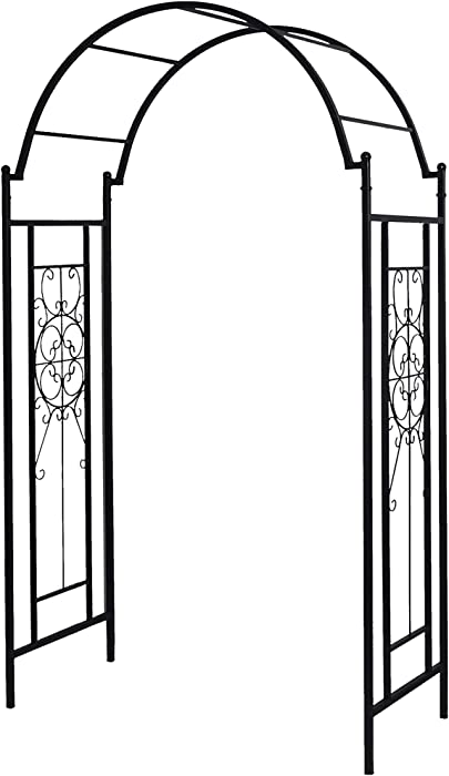 The Best Solid Metal Garden Arch Trellis