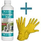 HOTREGA - Brunnen- Klar 500 ml SET + NITRAS Handschuhe Gr. 10