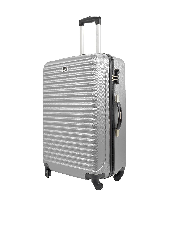 BLUESTAR 3-pack hårt skal Trolley BD-4161 silverfärger silverfärgad