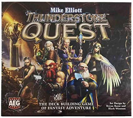 amazon com thunderstone quest deck building game aeg in hand