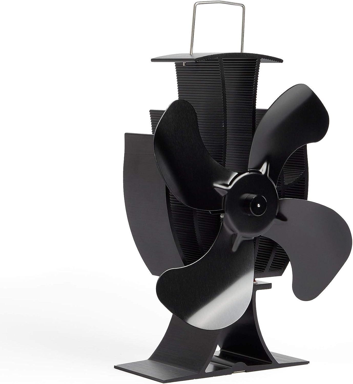 Cosystove Ventilateur 4/pales silencieux fonctionnant avec la chaleur d/'un po/êle traditionnel comprenant un thermom/ètre de conduit pour plus de chaleur tout en /économisant de largent