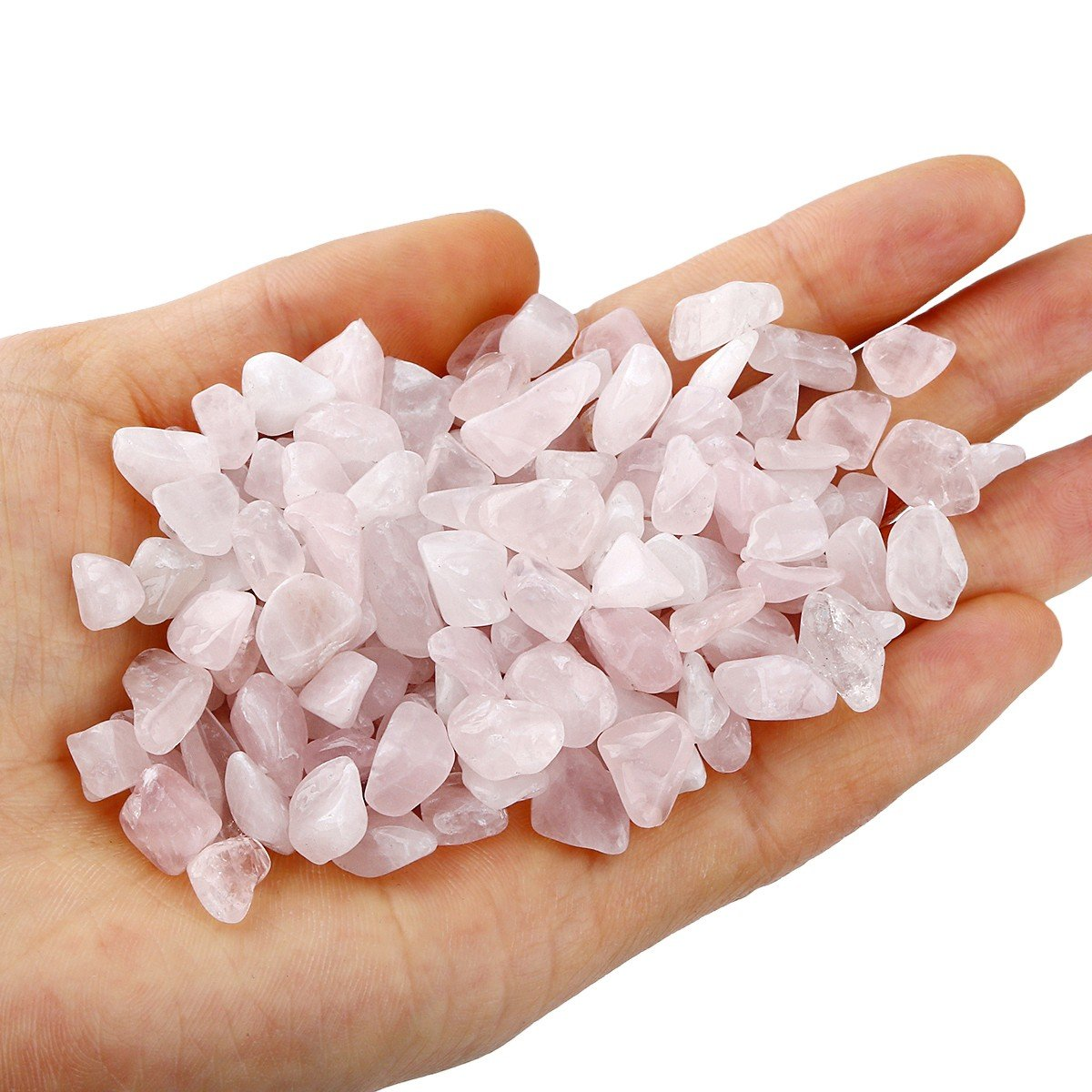 1 pound,about 460 gram Shanxing Tumbled Chips Stones,Crushed Stone Tumblestone Crystals Healing Home Decoration,Amethyst