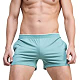superbody Men's Sexy Underwear Cotton Shorts Boxers Low