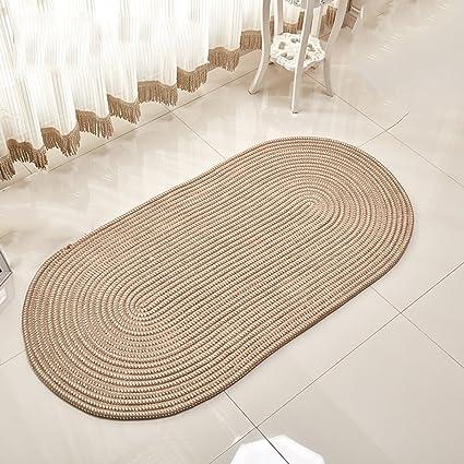 Zhdc® tappeti, ovale, corda del tessuto, soggiorno, salotto, camera ...