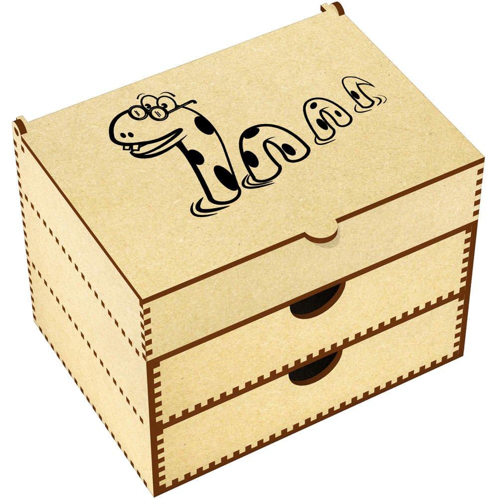Azeeda 'Nessie' Vanity Case / Makeup Box (VC00000792)