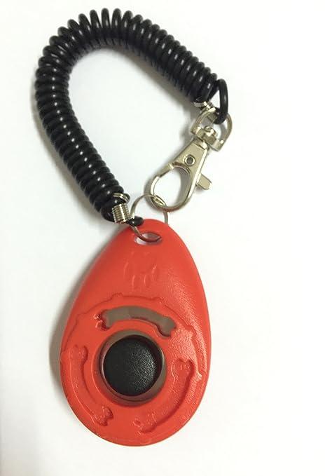 Mascotas animales Training Clicker con cuerda maravilloso Training Clicker para Entrenamiento de Perro, perros,