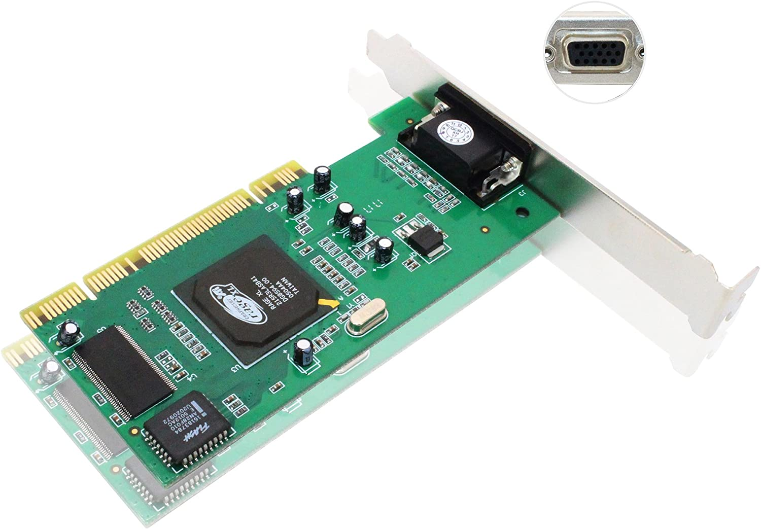 VGA Video Card, Tanbin ATI Rage XL 8MB PCI VGA Video Card CL-XL-B41