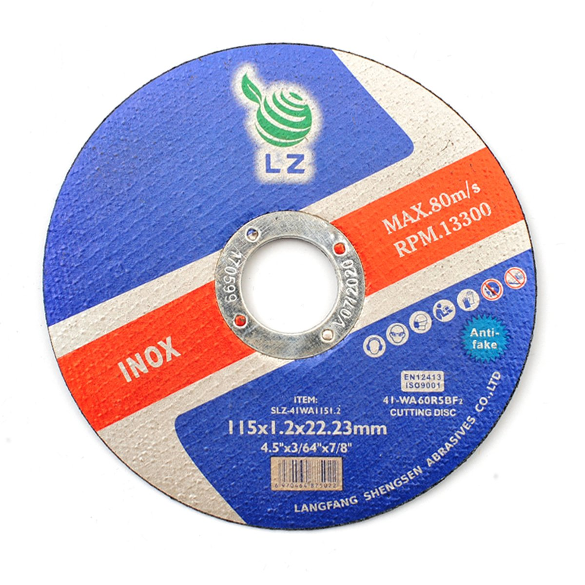 Cutting Discs Metal 75mm x 1mm x 9.5mm(3')– Set of 25, Air tool stainless steel cut off discs Worth Worth-13