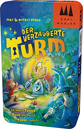 Schmidt Spiele DREI Magier: Der verzauberte Turm Niños Viajes/Aventuras - Juego de Tablero (Viajes/Aventuras, Niños, 10 min, 15 min, Niño/niña, 5 año(s)): Amazon.es: Juguetes y juegos