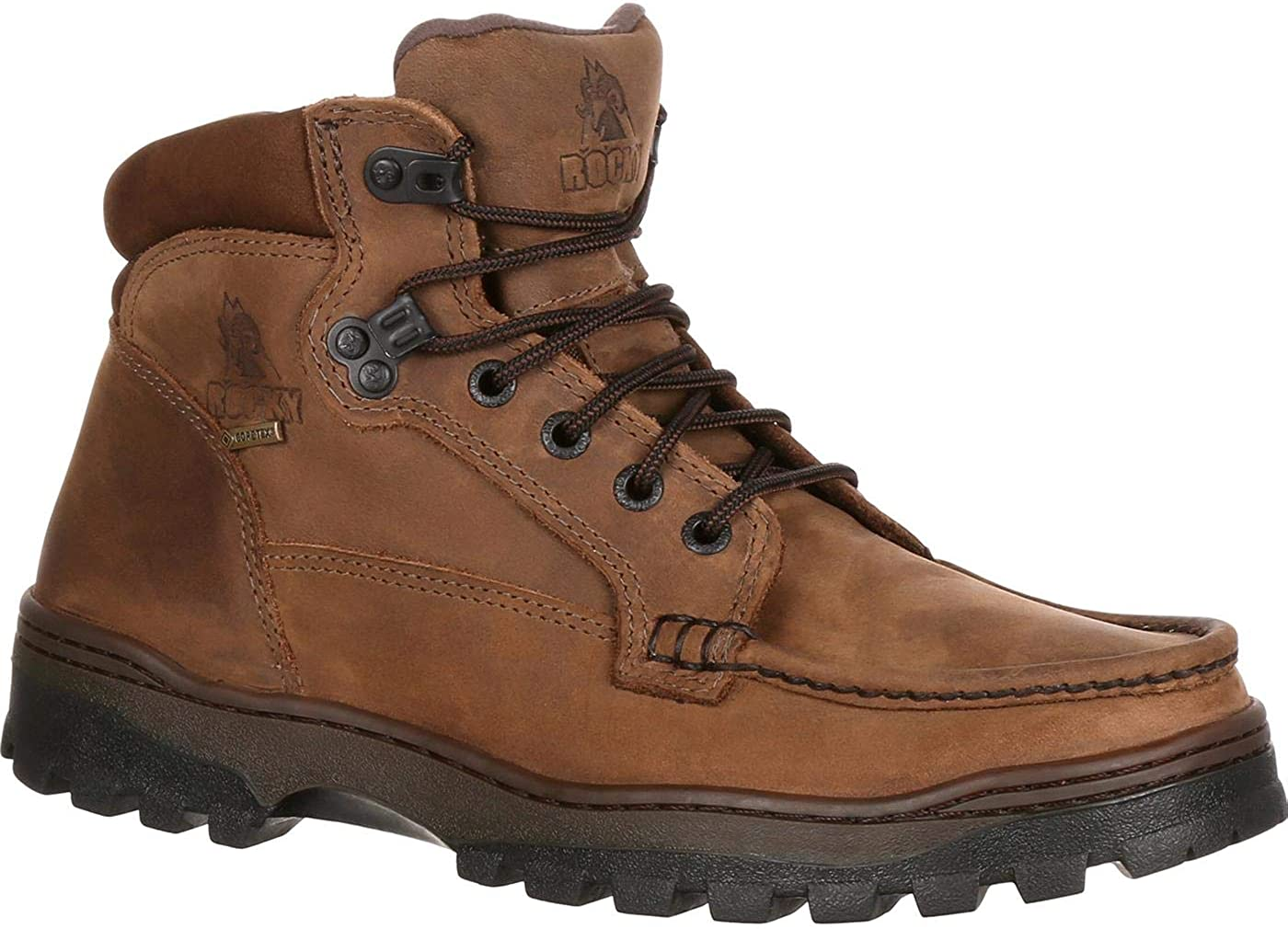 Rocky Outback Gore-TEX Waterproof Hiker Boot Light Brown