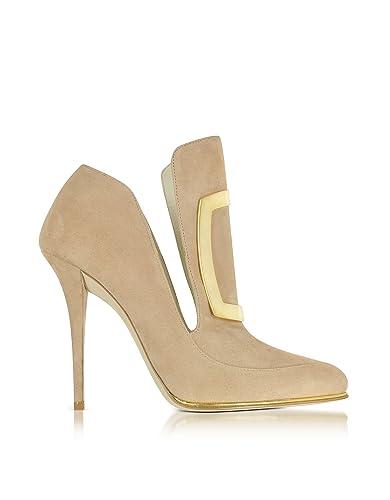 Balmain W6ces011104105 TalonsAmazon Beige Suède Chaussures Femme À QdhtCxsrB