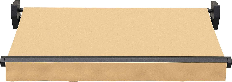 13FT 11.5ft Black Matte Aluminum Alloy Frame Sunshade Patio ...