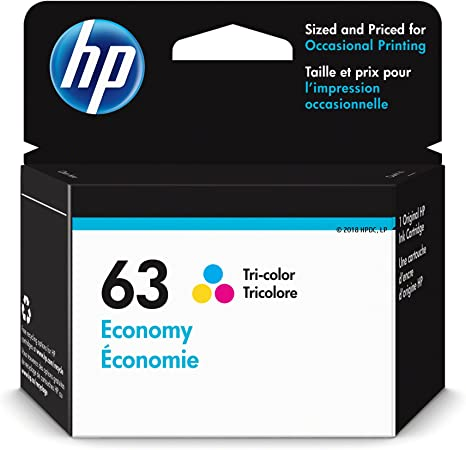 Amazon.com: HP 63 - Cartucho de tinta para HP Deskjet 1112 ...