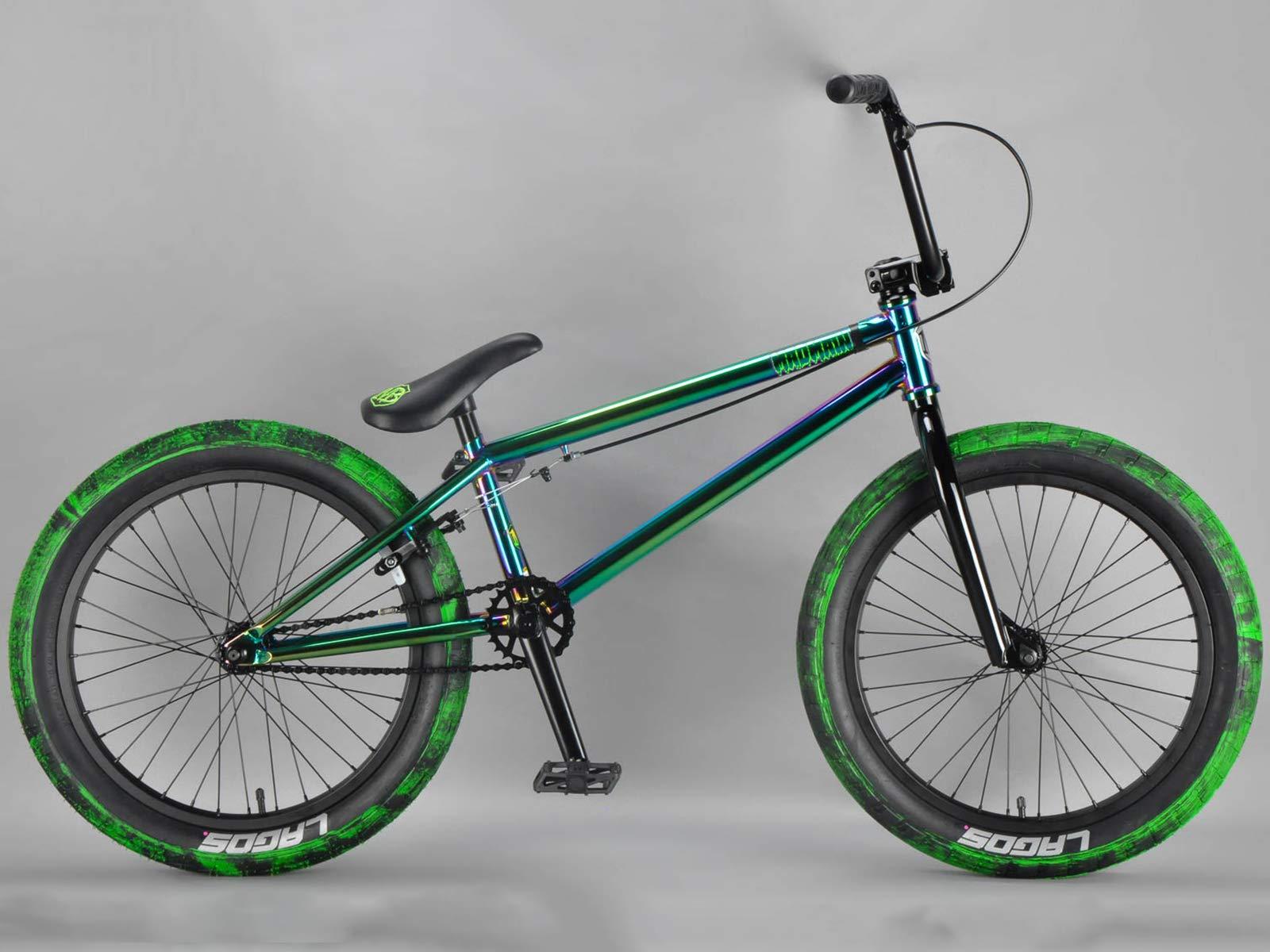 Mafiabikes Harry Main 20 inch Green Fuel BMX Bike