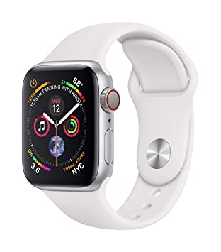 Apple Watch Series 4 Reloj Inteligente Plata OLED Móvil GPS (satélite) - Relojes Inteligentes