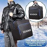 SEEHONOR Padded Ski Bag and Boot Bag Combo, Store
