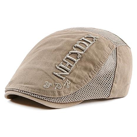 Scrox 1x Hombre Mujer Sombreros Gorras Boinas Clásico Moda Vintage Flat Cap Casual Unisex Otoño Invierno