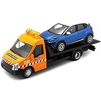 Bburago Maisto France - 31400 - Dépanneuse avec Voiture Street Fire - Véhicule Miniature - Échelle 1/43 - Modèle aléatoire