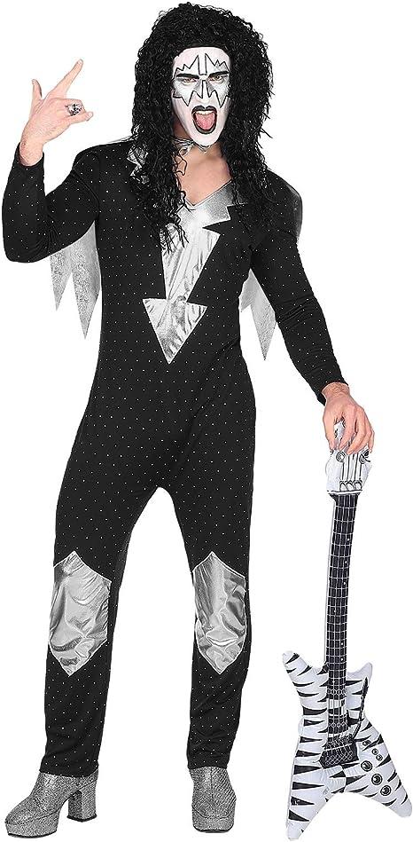 Disfraz de Estrella de Rock de Metal Pesado para Hombre de ...