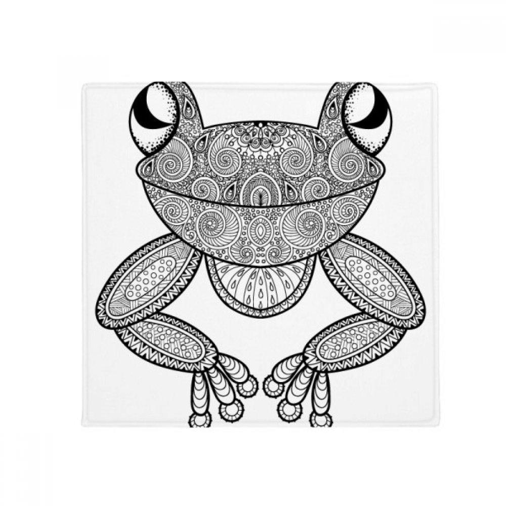 DIYthinker Paint Small Frog Green Anti-Slip Floor Pet Mat Square Home Kitchen Door 80Cm Gift