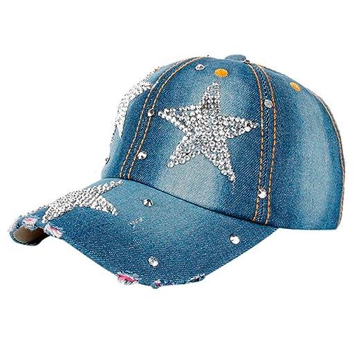 8851d6e2337 Fashion Boy Girls Hip Hop Flat Hat Shinny Bling Studded Rhinestone Stars  Duck Hat