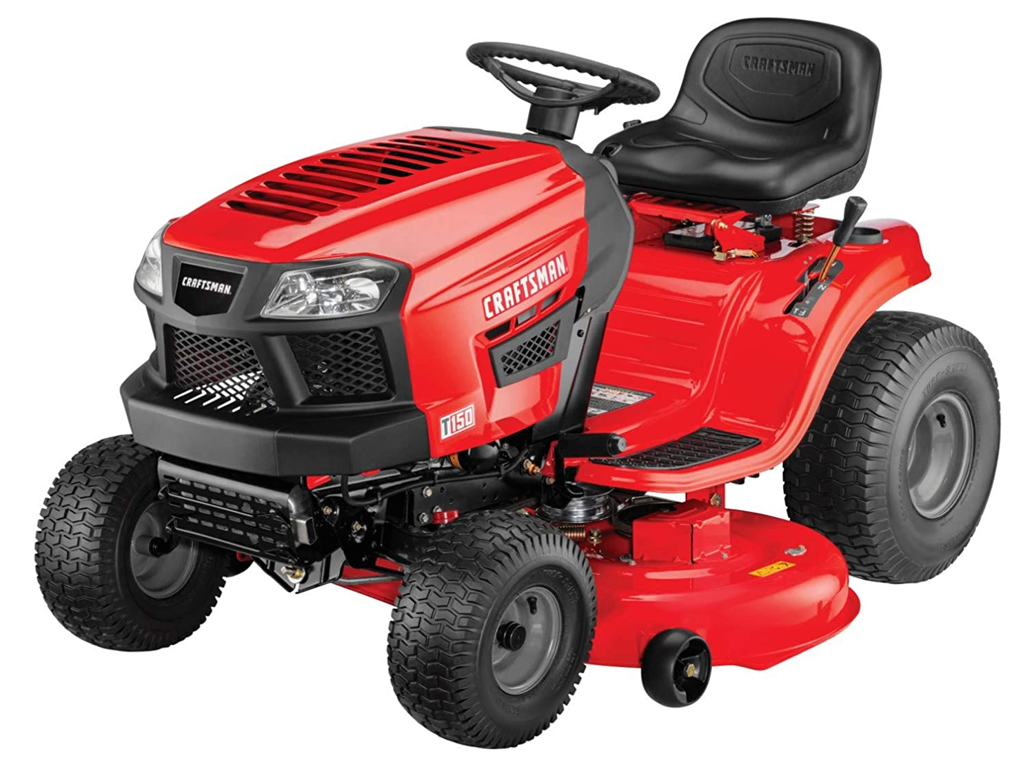 Craftsman T150 Gas Powered Riding Lawn Mower