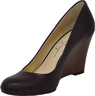 cb54698c8 Jessica Simpson Women's Cash Wedge Pump: Amazon.ca: Shoes & Handbags