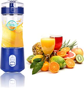 Personal portable juice blender fruit juice mixer travel blender cordless blender mini blender fruit vegetable juicer for home office travel outdoor using health care blender mixer