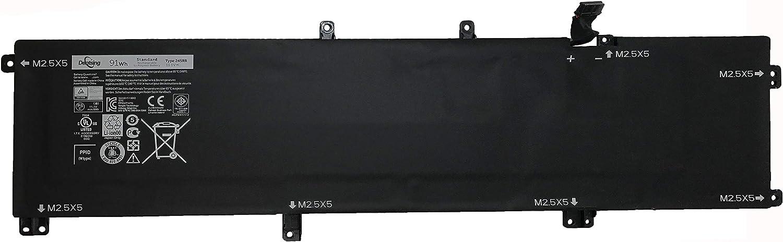 Dentsing 91Wh 9cell Battery 245RR for Dell XPS 15 9530 Precision M3800 H76MV 7D1WJ